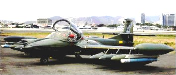 Avión subsónico de Combate: Cessna A-37B ecuatoriano