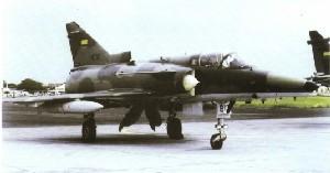 Avión Caza Polivalente Kfir-C2 de la FAE