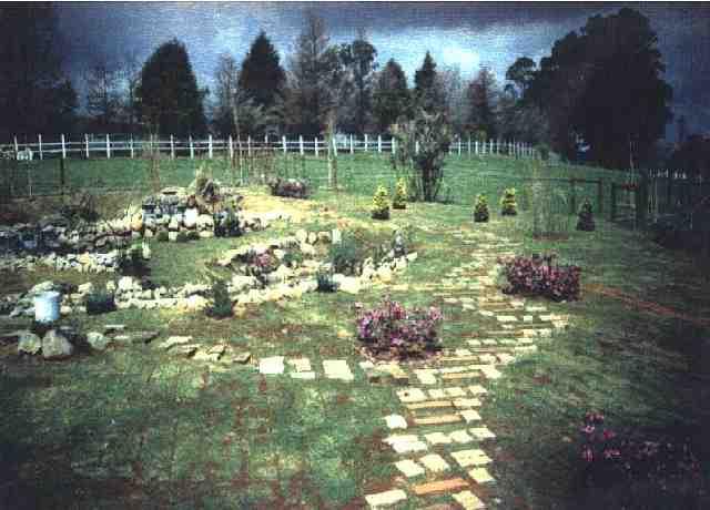 ideias para jardins gramadosDecorao De Jardins Gramado Dark Brown