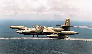 avión ligero subsónico de ataque Cessna Modelo 318E A-37B Dragonfly