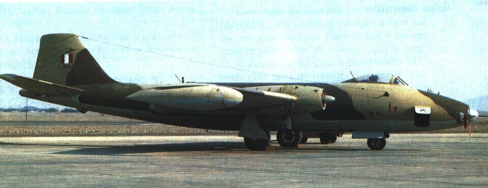 Canberra peruano modelo Mk.68
