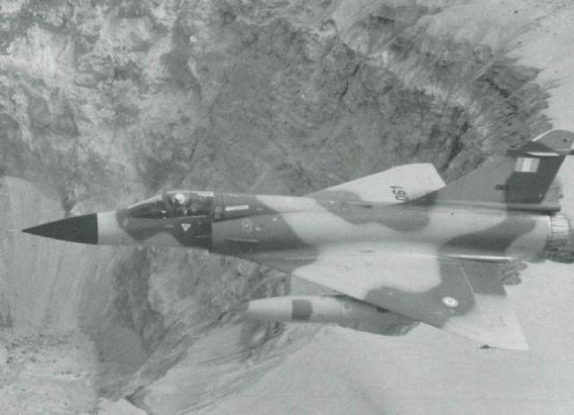 avión cazabombardero interceptor supersónico de superioridad aérea Mirage 2000