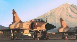 Dos Mirage 2000P en el aeropuerto de Arequipa