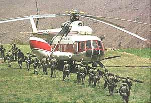 Helic�ptero de transporte Mi-17 de la Aviaci�n del Ej�rcito del Per�