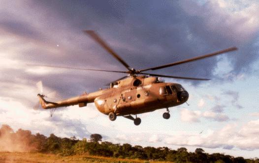 Unidad Mi-17 Hip H. Fuerza A�rea del Per�.