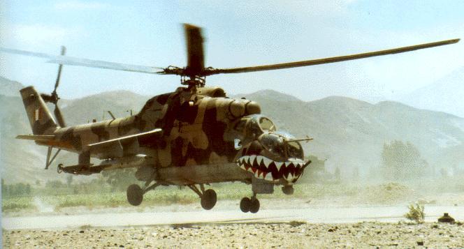 Mi-25 de la FAP: potencia, movilidad y poder de fuego