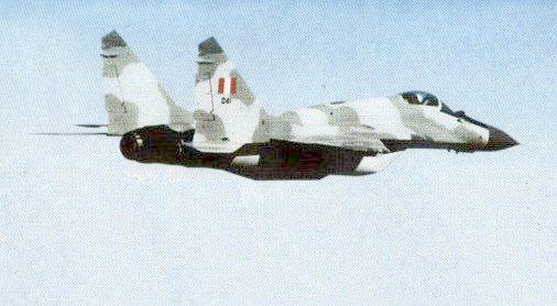 Mig-29S. Fuerza A�rea del Per�. Cortes�a Danny Moeri