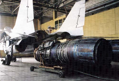 Motor RD-33 del Mig 29