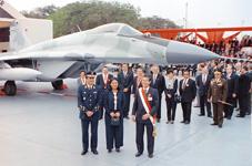 Base A�rea de las Palmas, el d�a de su entrega oficial
