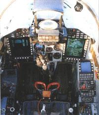 Foto n�mero 2: Cockpit Mig-29 SMT peruano
