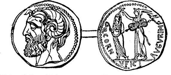 moeda homenageando os Lentuli