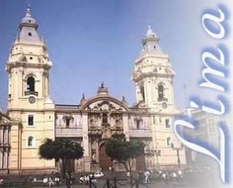 [Der erzbischöfliche Palast in Lima]