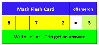 Math Flashcards