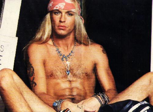 brett michaels penis