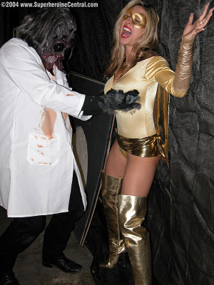 Erika Steele is the Gold Avenger!