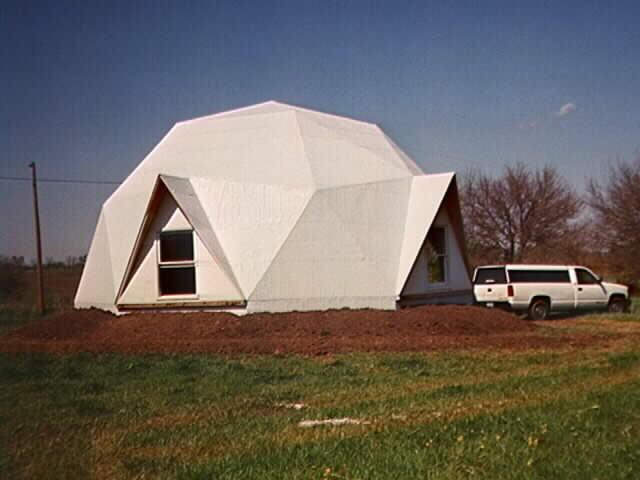 Geodesic House Structure
