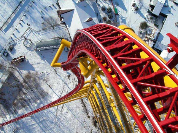 Top Thrill Dragster Pictures