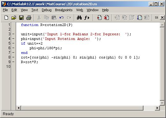 matlab tut Introduction :: background introduction this document provides an introduction and some exercises to familiarize you with matlab.