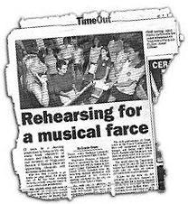 Tragicomix panacea a musical farce for Farcical writings