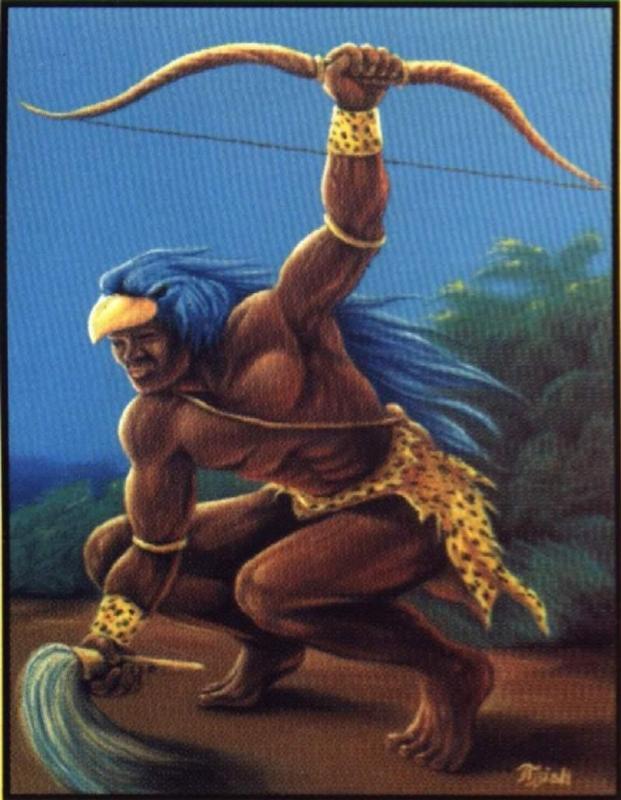 Oxossi, segundo a Crença Africana