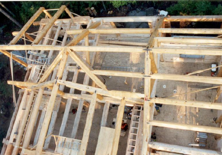 Log And Timber Roof Framing And Joinery Mathematics