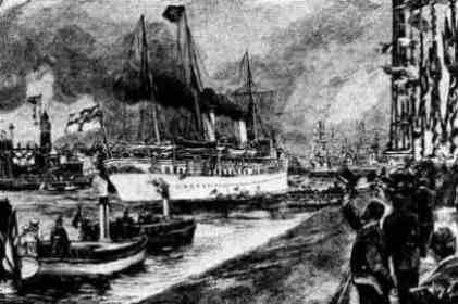 [Eröffnung des Kaiser-Wilhelm-Kanals 1895]